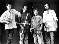 Early Bracha: Miroslav, David Philipson, John Bergamo, Mark Nauseef, 1986