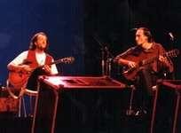 With Vlatko Stefanovski 1995, First Performance Ever, Sava Centre, Belgrade, Serbia 1995