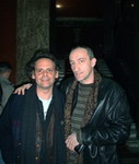 With Roland Dyens, Guitar Art Festival, Belgrade, Apr. 2003